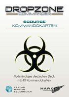 Dropzone Commander Scourge Kommandokarten