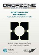 Dropzone Commander PHR Kommandokarten