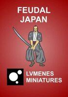 LVMENES Minis - Feudal Japan