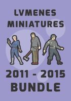 LVMENES Miniatures 2011 - 2015 [BUNDLE]
