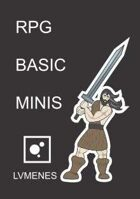 LVMENES RPG Basic Miniatures