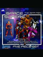 Space Supers #13: The Zeta Men [SUPERS]