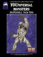 [M&M3e] Abominable Snow Man