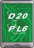 D20 Future cards: PL6 Equipment