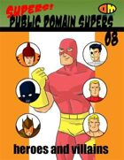 Supers! Public Domain Supers 08