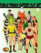 Public Domain Super Hero Clip Art 12