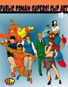 Public Domain Super Hero Clip Art 13