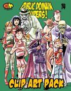 Public Domain Super Hero Clip Art 14