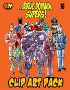 Public Domain Super Hero Clip Art 16