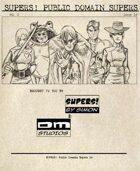 Supers! Public Domain Supers 14