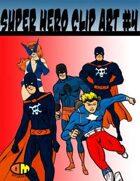 Public Domain Super Hero Clip Art #2