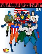 Public Domain Super Hero Clip Art #8