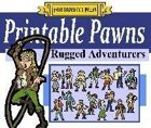 Printable Pawns:  Rugged Adventurers