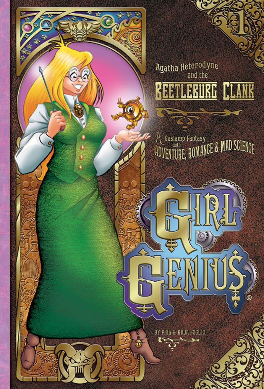 Girl Genius Volume One (B&W Edition)