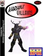 Variable Villains: Wilder