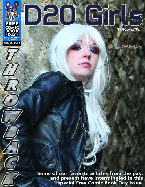D20 Girls Magazine - Special Free Comic Book Day Edition