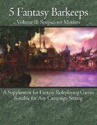 5 Fantasy Barkeeps, Volume 2