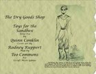 Toys for the Sandbox 25: Dry Goods Shop