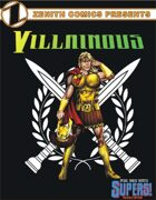 Zenith Comics Presents: Villainous - Adonis