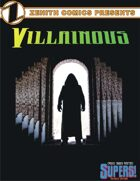 Zenith Comics Presents: Villainous - Black Shroud