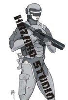 Sketchbook Scifi 3: Trigger Girl