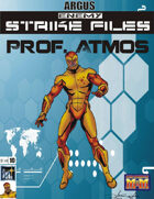 Enemy Strike File: Professor Atmos [Mutants and Masterminds]
