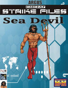 Enemy Strike File: Sea Devil [Mutants and Masterminds]