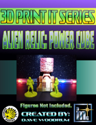 3D Print It: Alien Relic: Power Cube