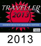 Official 2013 Traveller Calendar