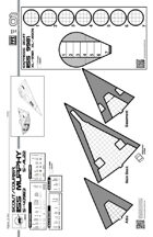 Starships & Spacecraft 1- Scout Deck Plan Blank