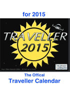 Official 2015 Traveller Calendar