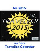 Official 2015 Traveller Calendar
