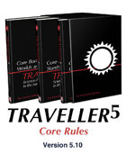 T5 Traveller5 Core Rules 3-Book Set