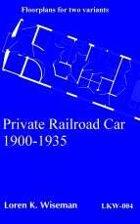 Private Railroad Car, 1900-1935