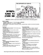 2300  AD DTRPG Guide To 2300 AD