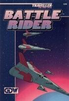 TNE-0308 Battle Rider Fleet Level Starship Combat Boardgame
