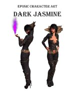 Eposic Character Art Dark Jasmine