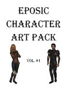 Eposic Character Art Pack Vol #1