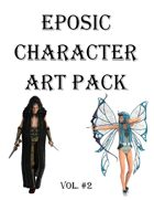 Eposic Character Art Pack Vol #2