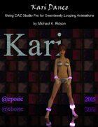 Kari Dance - Using DAZ Studio Pro for Seamlessly Looping Animations
