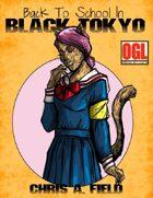 Back to School in Black Tokyo