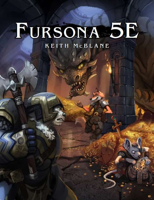 Fursona 5E - Skortched Urf' Studios | Fursona | DriveThruRPG com