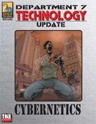 Dept. 7 Technology Update: Cybernetics