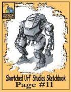 Skortched Urf' Studios Sketchbook Page #11: Mecha Suit