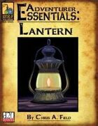 Adventurer Essentials: Lantern