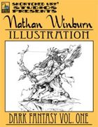 Nathan Winburn Illustration: Dark Fantasy Vol. One Stock Art