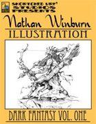 Nathan Winburn Illustration: Dark Fantasy Vol. One Stock Art