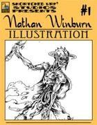 Nathan Winburn Illustration #1: Zombie