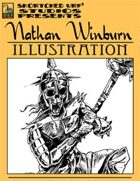 Nathan Winburn Illustration #2: Skeleton