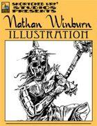 Nathan Winburn Illustration #2: Skeleton